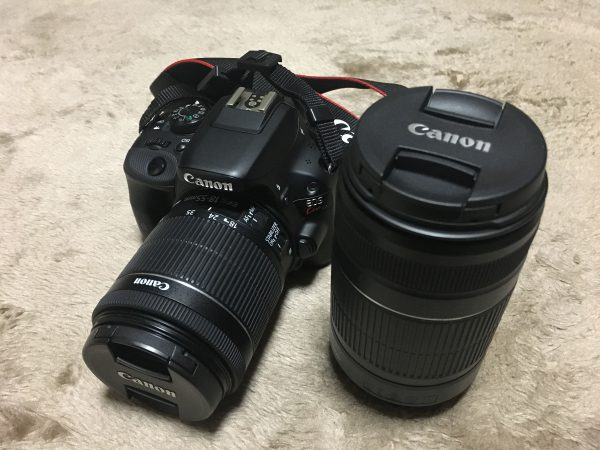 Canon EosKiss X4Wズームキット